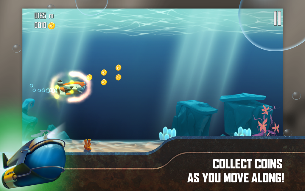 Submersia: Submarine run- screenshot