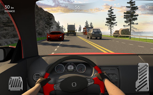 Racing In Car 3D  screenshots 1