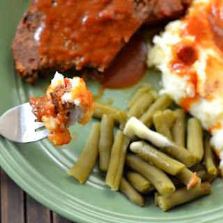 Crock Pot Meatloaf.