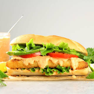 Zesty Baja Fish Sandwich.