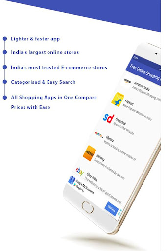 Free Online Shopping India App 1.3.5 screenshots 2