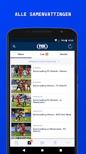 FOX Sports NL 8.0.3-test screenshots 2