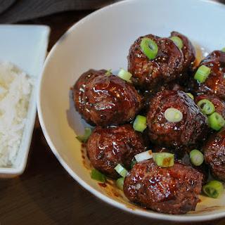 Beef Teriyaki Meatballs.