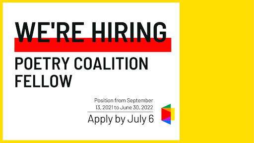 We're Hiring: Poetry Coalition Fellow