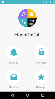 Flash activado call Gratis