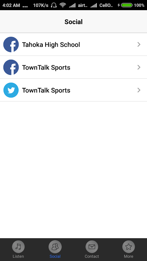 Tahoka Sports Radio- screenshot