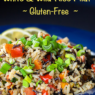 White and Wild Rice Vegetable Pilaf (Gluten-Free)