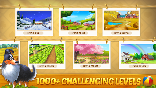 Solitaire Tripeaks: Farm Adventure apkpoly screenshots 3