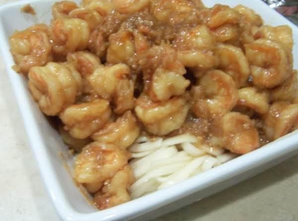 Ginger Shrimp With Udon Noodles