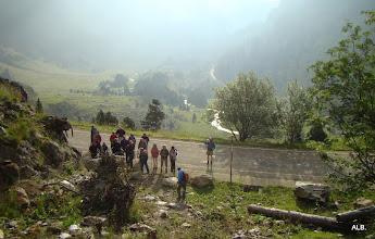 Photo: Iniciando la ruta.