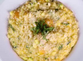 Risotto With Vegetables. Recipe