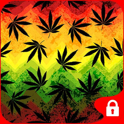 个人化のGO Locker Theme Weed Ganja LOGO-記事Game