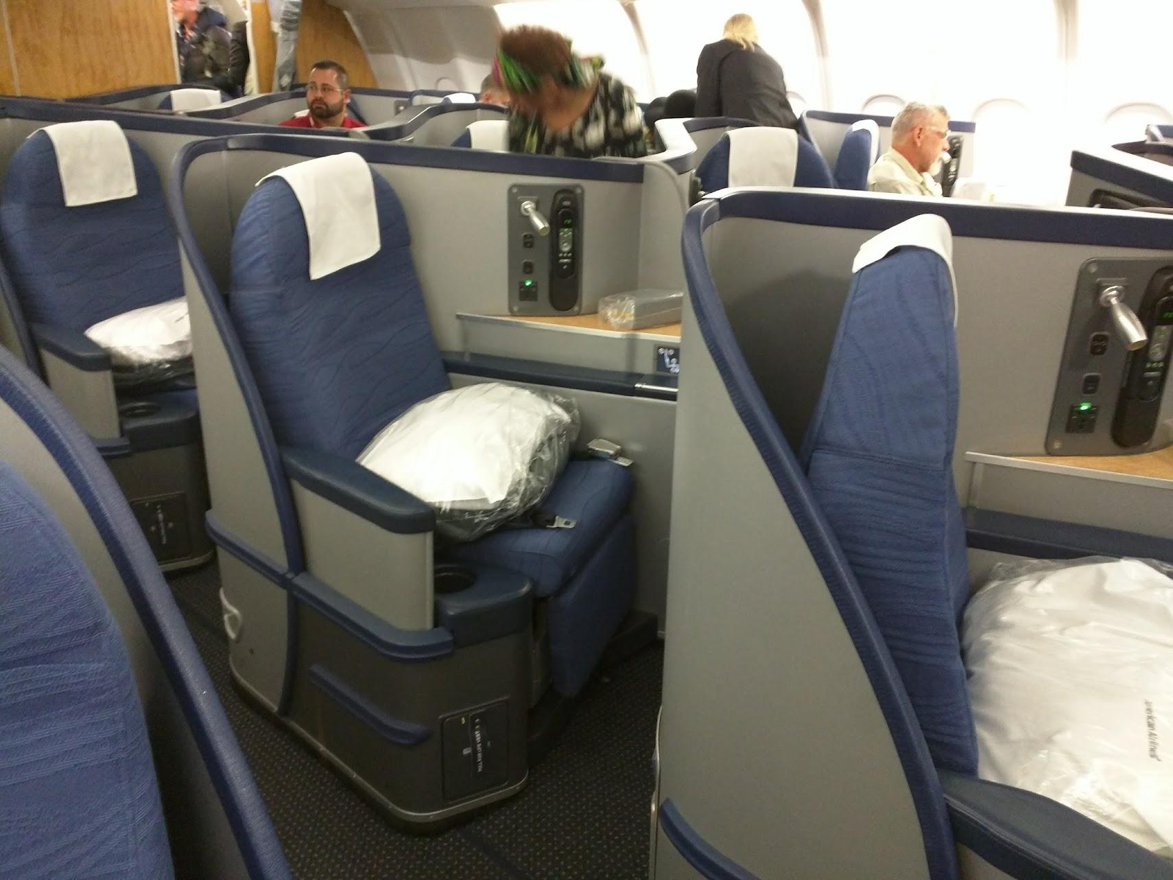 AA A330 Businesss Class