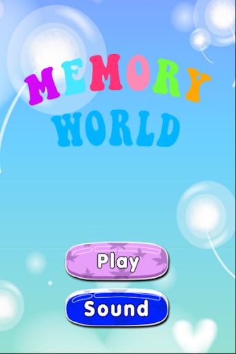 Memory World - Kids Game