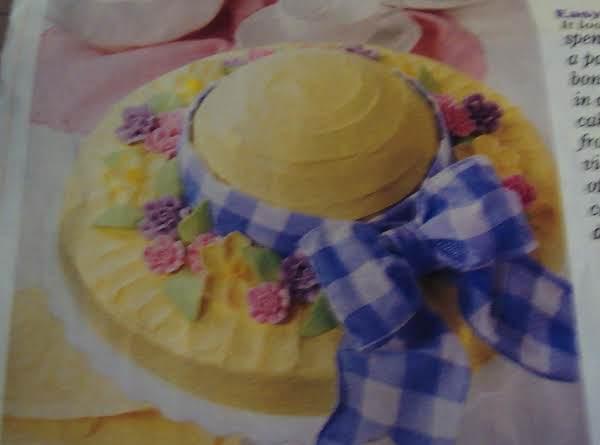 Easter  Bonnet  Cake -  Easy Cake Mix