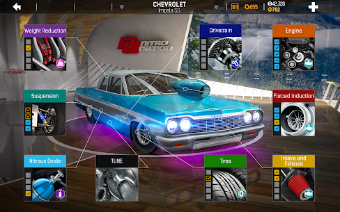 Nitro Nation Drag & Drift 6.9.0 MOD APK (Free repair) 3