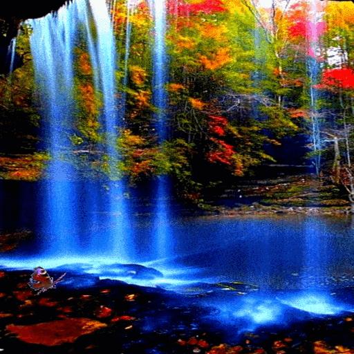 Waterfall Magic Live Wallpaper