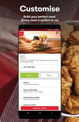 KFC - Order On The Go 20.3.1 Screenshots 2