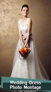 Wedding Dress Photo Montage - náhled