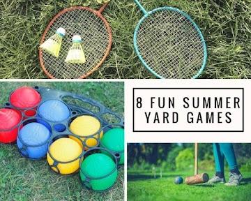 8 Fun Summer Yard Games