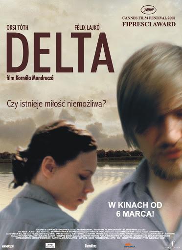 Polski plakat filmu 'Delta'