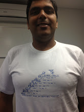 Photo: Piyush with his motivational geekery!