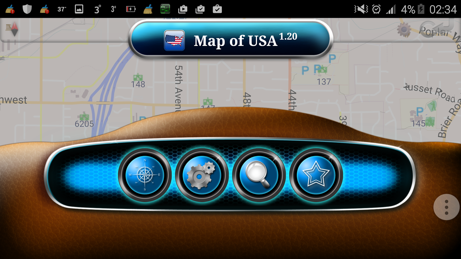 Map Of USA Android Apps On Google Play - Google map america east coast