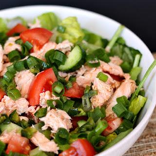 Thai Salmon Salad with Oil-Free Dressing Recipe