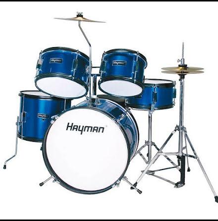 Hayman Barntrumset - HM-50-MU - Metallic Blue
