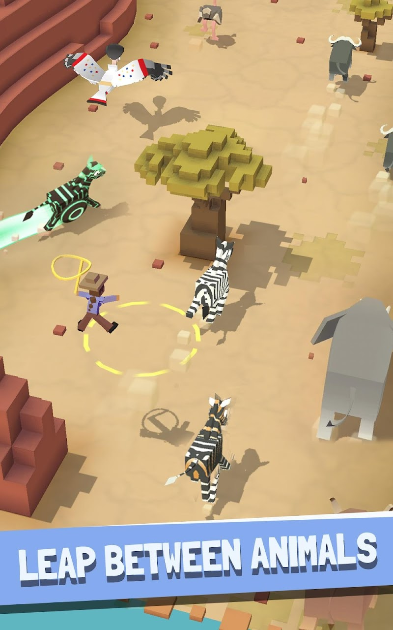 Rodeo Stampede:Sky Zoo Safari Screenshot 2