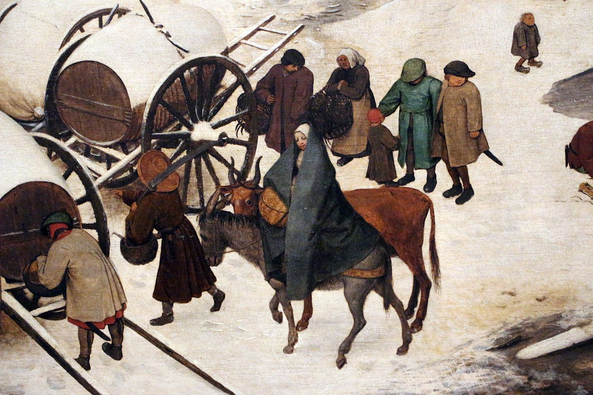 Article on Bruegel's The Census at Bethlehem