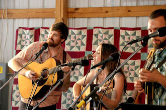 Photo: The Honey Dewdrops: Kagey, Laura, Barry