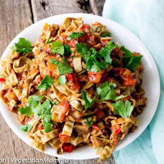 Vegetarian Bolognese - a twist on classic Bolognese.