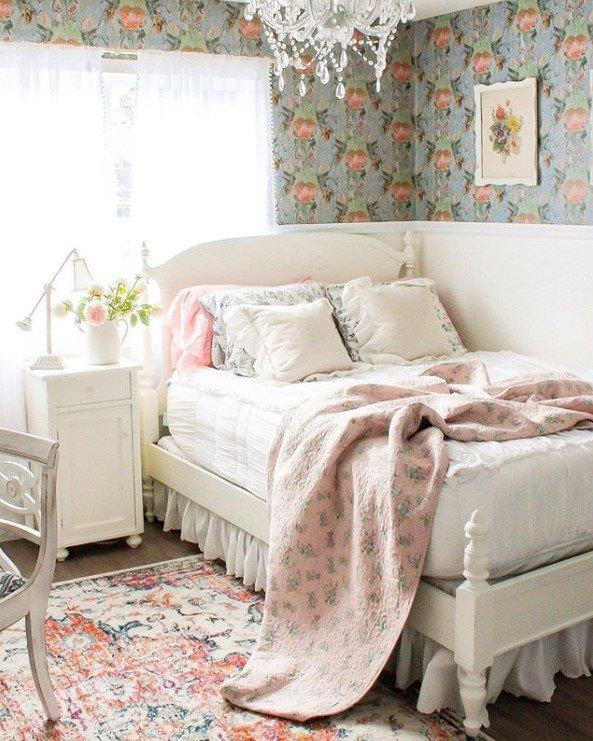 Shabby Chic Little Girl Bedroom Ideas