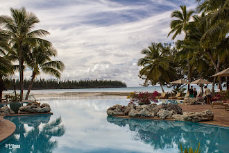 Photo: [RO] Reflexie de seara in piscina hotelului Le Meridien  [EN] Evening reflection in the pool of Le Meridien hotel.