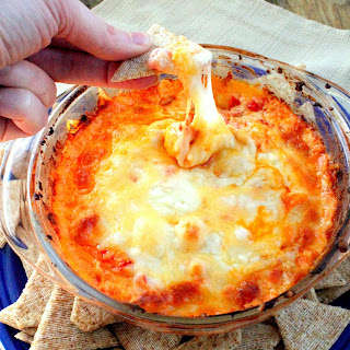 Smokey 4 Cheese Roasted Red Pepper Dip