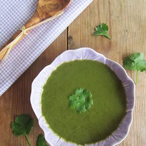 Green Cream with Coriander