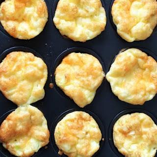 Corn Cheese and Egg mini Muffins.