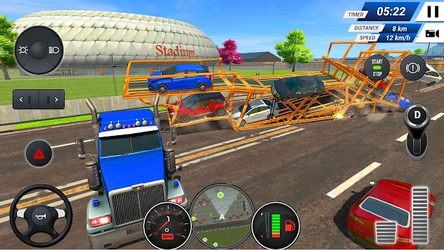 Download Car Transporter Truck Simulator Game 2019 APK