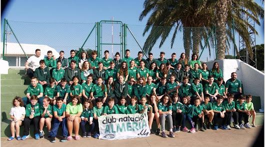 Buen debut del Club Natación Almería