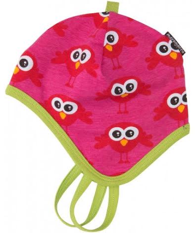 Maxomorra Baby Mössa Bird Red