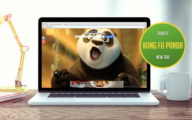 Kung Fu Panda Tribute New Tab