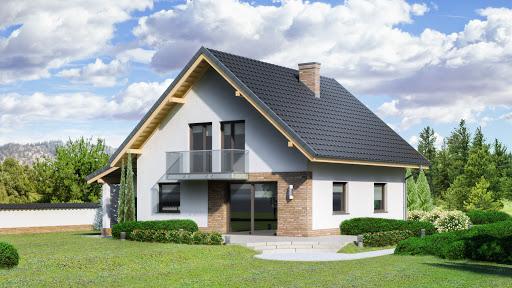 projekt Dom przy Oliwkowej 4 NH