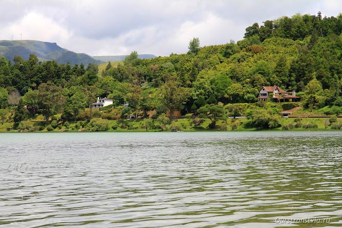 Озеро Фурнаш на Сан Мигель, Азоры