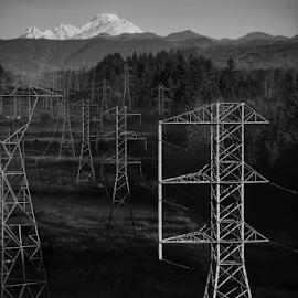 Juxtaposition by Todd Reynolds - Black & White Landscapes