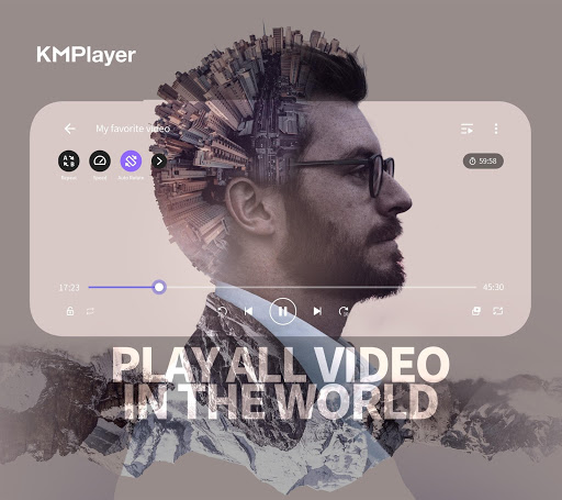 KMPlayer - All Video Player & Music Player Apk 1