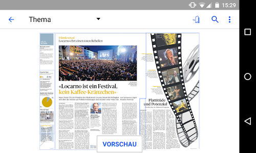 az Aargauer Zeitung E-Paper screenshot 2