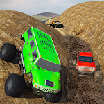 Big Monster Truck Rally Racing Icon