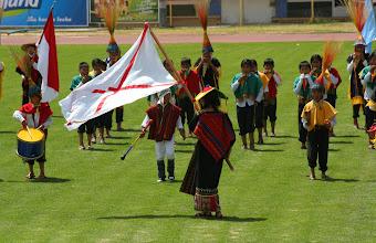 Photo: Representing Chuquisaca