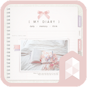 My diary Launcher theme
